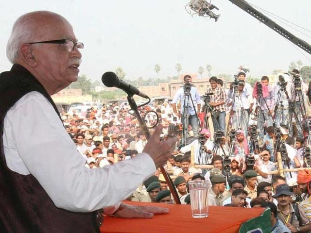 LK advani,Yatra,Sitabdiara