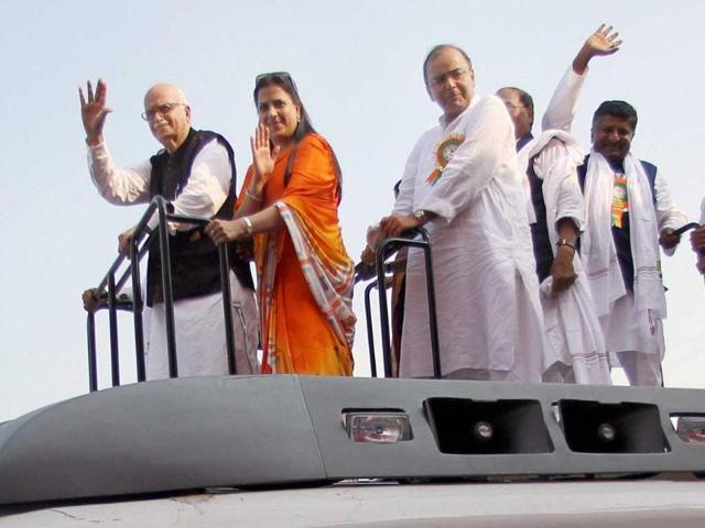 Vijay Swaroop,Pratibha Advani,LK Advani