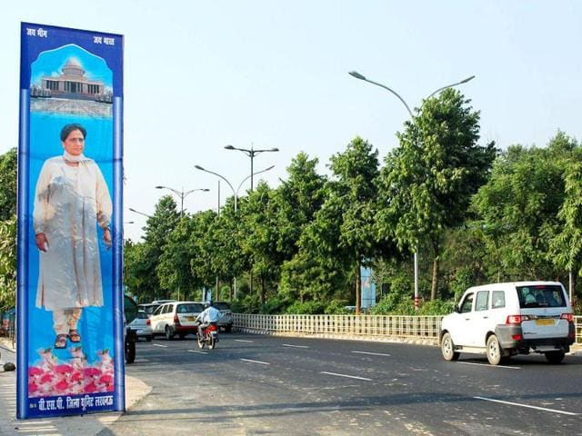 Uttar-Pradesh-chief-minister-Mayawati-s-dream-project-Bhim-Rao-Ambedkar-Park-is-home-to-more-than-20-statues-of-elephants--Virendra-Singh-Gosain-HT-photos