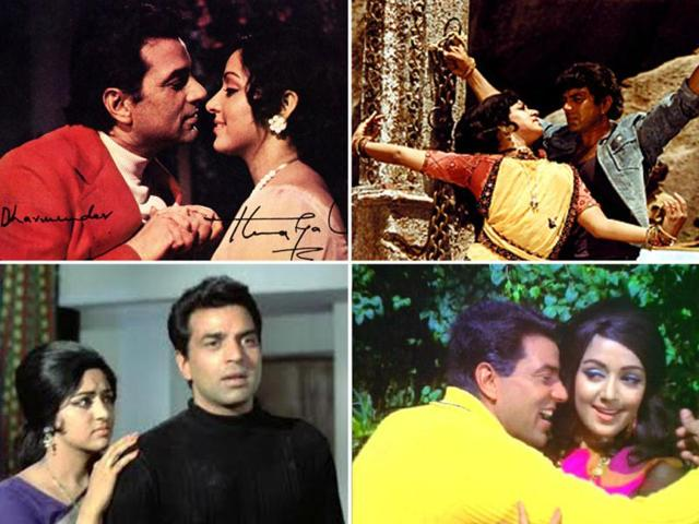 Dharmendra-Hema-pair-appeared-together-in-films-like-Seeta-Aur-Geeta-Dreamgirl-Charas-and-The-Burning-Train
