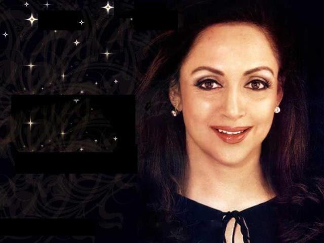 Hema Malini,actress,won