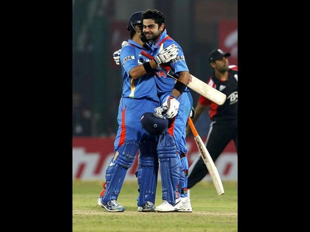 Virat-Kohli-reacts-after-winning-the-the-2nd--ODI--against-England-at-Ferozshah-Kotla-ground-in-New-Delhi