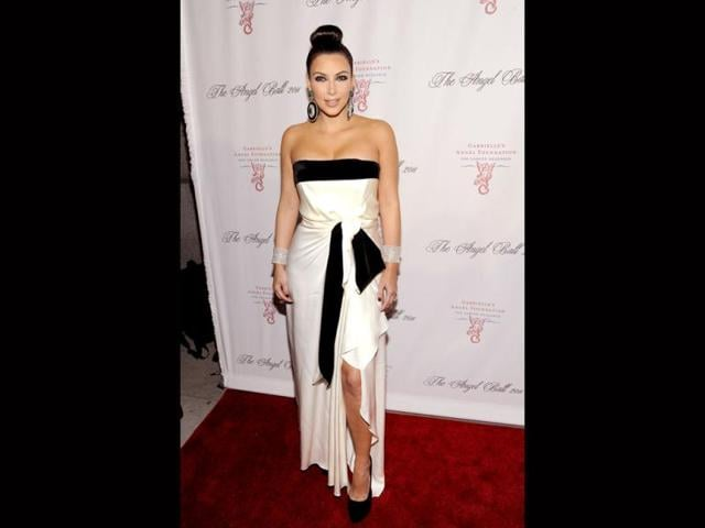 Kim-Kardashian-reminds-one-a-bit-of-a-Samurai-with-that-really-tightly-pulled-back-hairdo-The-dress-however-tells-a-different-story-AP
