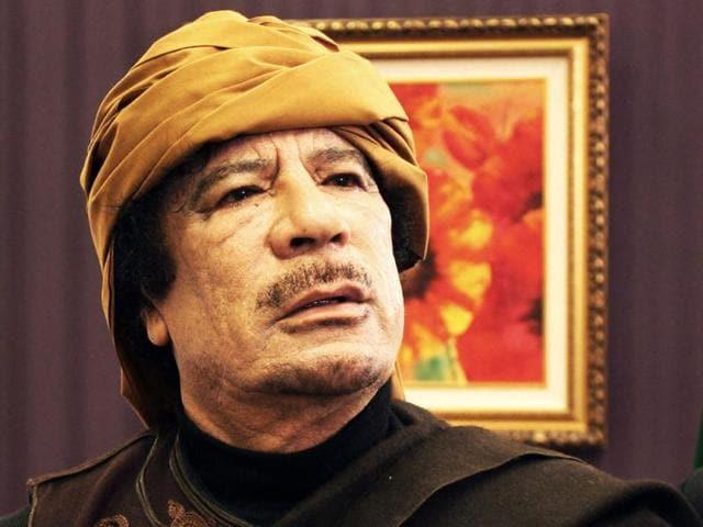 Muammar Gaddafi,news,hindustan times
