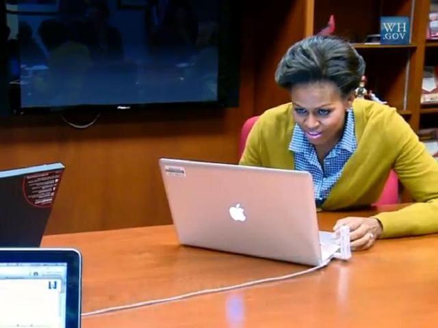 Michelle-Obama-posts-her-first-tweet