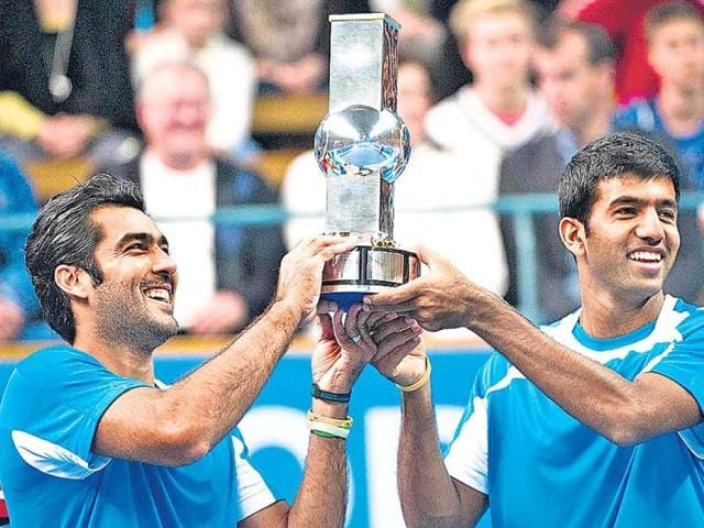 Aisam-ul-Haq-Qureshi-of-Pakistan-and-India-s-Rohan-Bopanna-celebrate-after-winning-the-Stockholm-Open