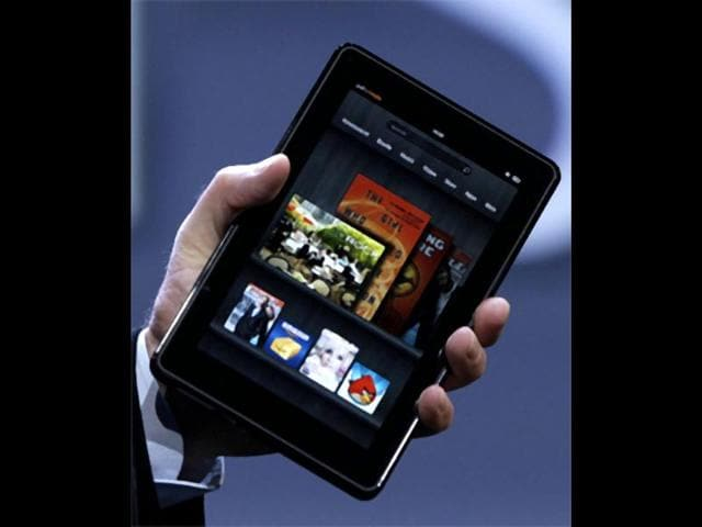 Amazon-Kindle-Fire-It-is-likely-to-be-the-first-successful-tablet-not-sold-by-Apple-and-there-are-several-good-reasons-for-it-the-low-price-of-199-the-convenient-portable-size-of-7-inches-and-a-rich-catalog-of-books-movies-and-music-offered-through-Amazon-s-Web-based-services