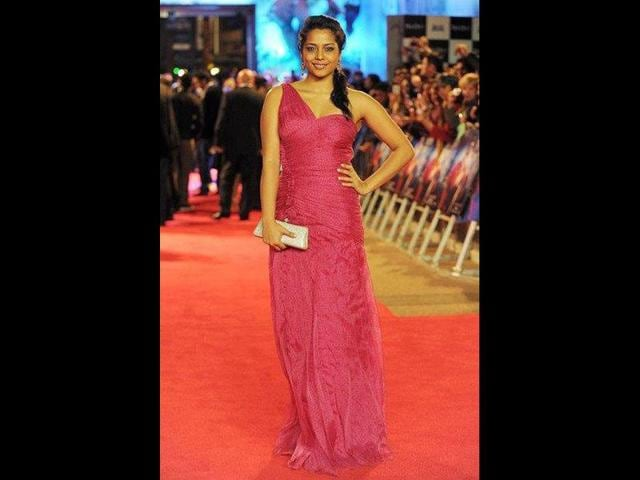 Shahana-Goswami-doesn-t-look-too-great-in-a-pink-gown