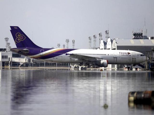 Thai Airways,Thai Airways plane,turbulence