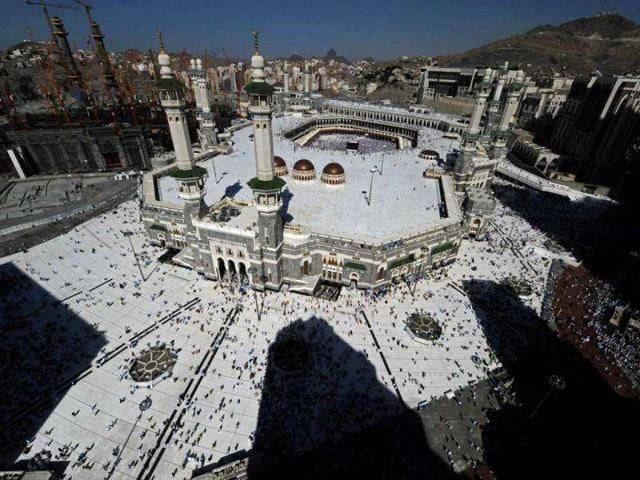 A-general-view-shows-piligrims-arriving-in-Mecca-s-Grand-Mosque-for-prayer-as-more-than-1-5-million-Muslims-have-arrived-in-Saudi-Arabia-for-the-hajj-pilgrimage-to-the-shrine-city