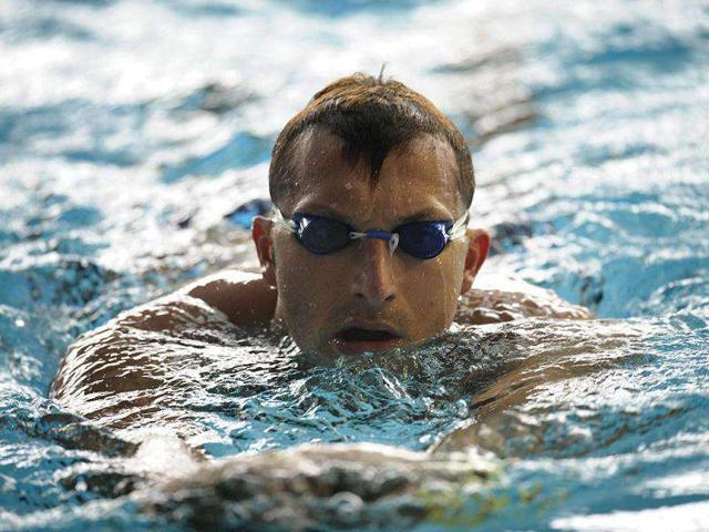 Former-Olympic-swimming-champion-Ian-Thorpe-of-Australia-conducts-training-ahead-of-the-Swimming-World-Cup-scheduled-for-the-weekend