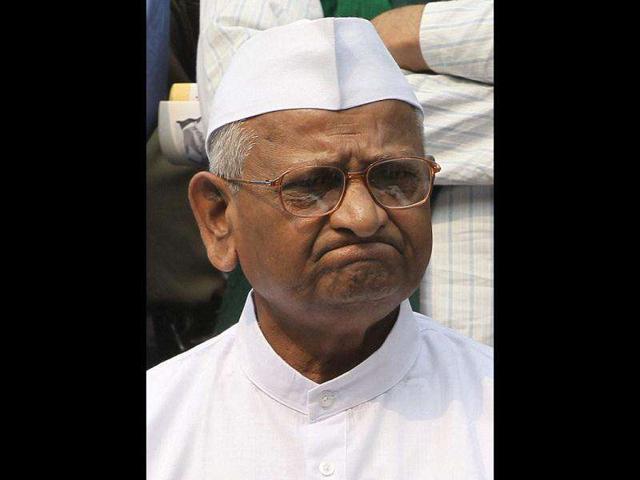 Anna Hazare,news,hindustan times