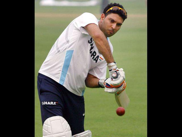 Cricketer-Yuvraj-Singh-bats-during-a-net-practice-session-in-New-Delhi-Photo-PTI
