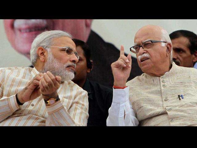 lk advani,narendra modi,news