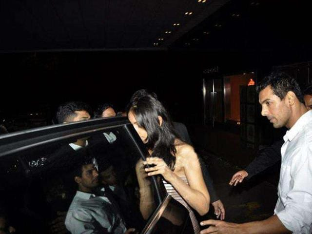 Looks like, John, Priya even left the event together in a car.