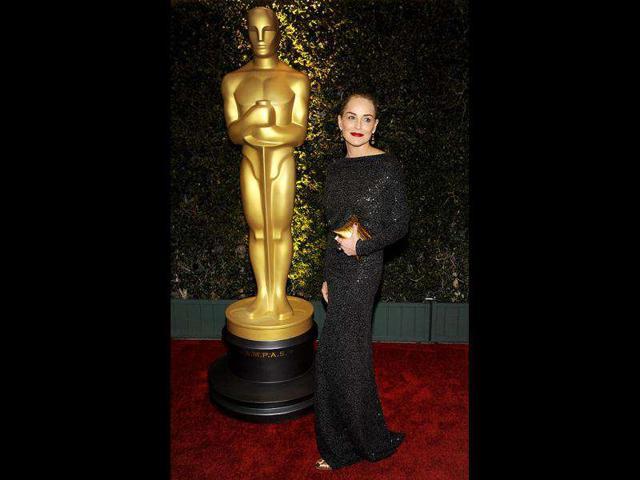 Sharon Stone 'dating hotel mogul Michael Wudyka'