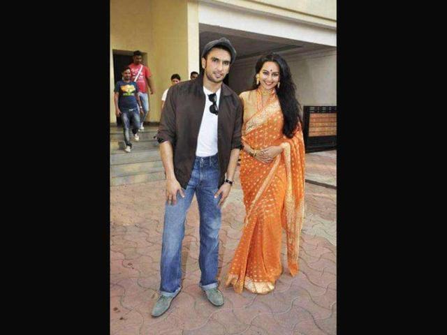 Sonakshi Sinha,Ranveer Singh,Lootera