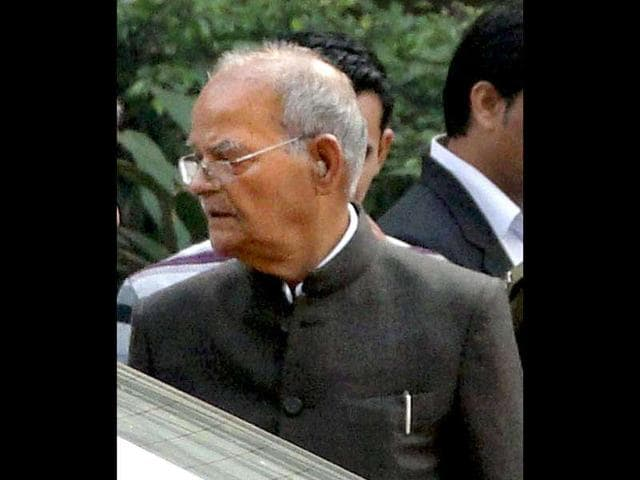 former Union minister Sukh Ram