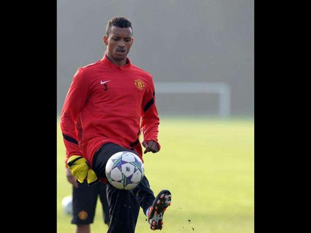 Manchester-United-s-Portuguese-midfielder-Nani-trains-in-Manchester-on-the-eve-of-his-team-s-UEFA-Champions-League-Group-C-football-match-against-Benfica-AFP-Photo-Paul-Ellis