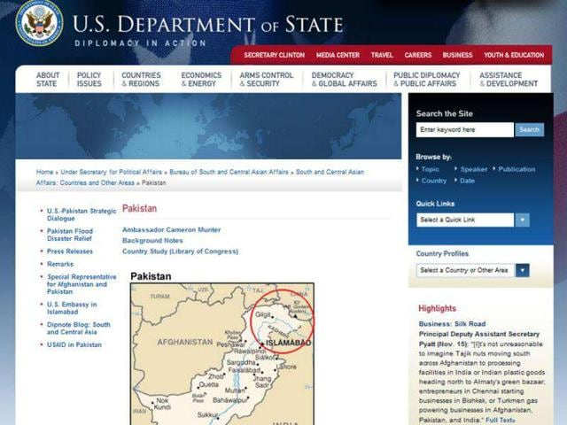 Victoria Nuland,Pakistan,US State Department