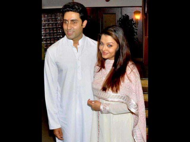 Abhishek Bachchan,Aishwarya Rai Bachchan,Beti B