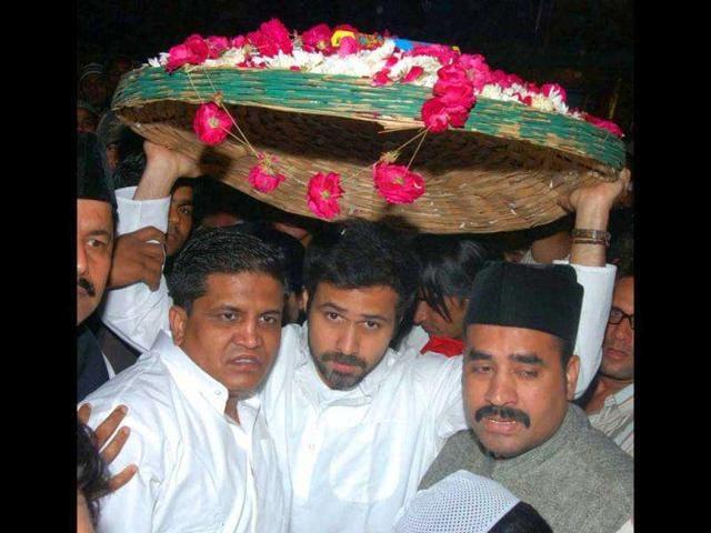 Hindustan Times,Emraaan Hashmi,Nizamuddin Dargah