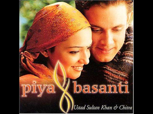Ustad-Sultan-Khan-s-indi-pop-album-Piya-Basanti-Re--with-Chitra-made-him-a-household-name