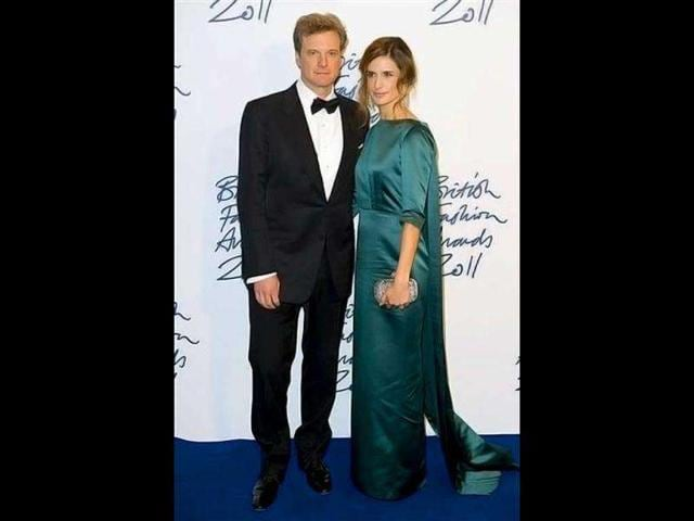 British-actor-Colin-Firth-and-Italian-producer-wife-Livia-Giuggioli-paint-a-pretty-picture-AP