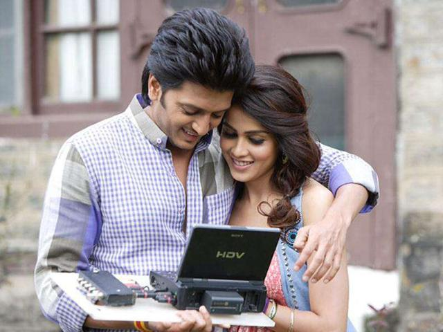 Riteish suggested hair makeover for Genelia