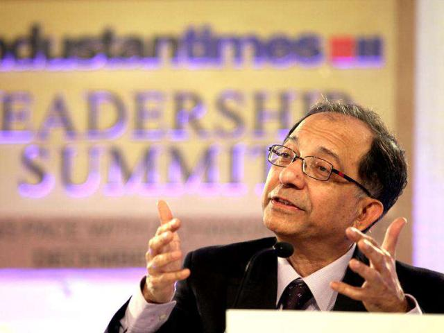 Kaushik-Basu-chief-economic-adviser-to-the-PM-speaks-at-the-HT-Leadership-Summit-2011-in-New-Delhi-HT-Raj-K-Raj