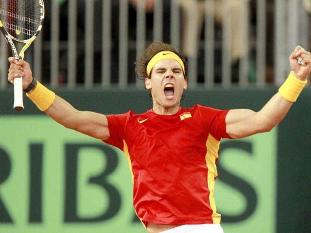 Rafael Nadal,Davis Cup,Juan Monaco