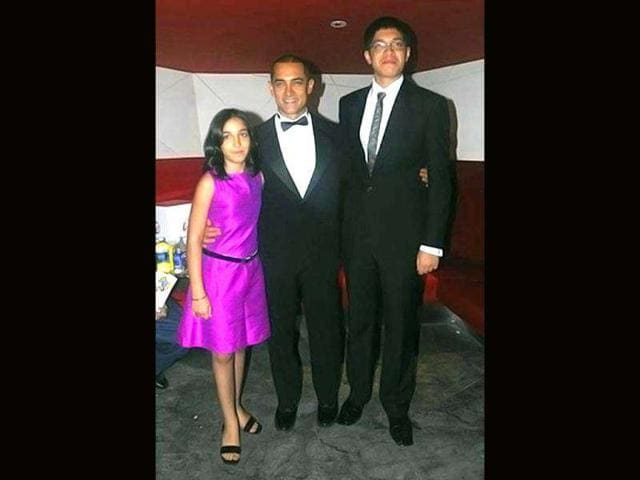 Aamir-Khan-with-son-Junaid-and-daughter-Ira
