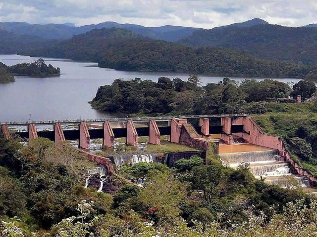 The-controversial-Mullaperiyar-dam-in-Idukki-district-Kerala