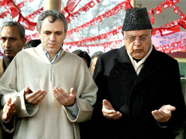 National-Conference-patron-Farooq-Abdullah-with-son-Omar-Abdullah-during-rally-in-April