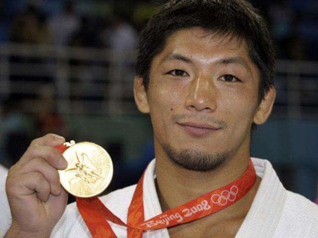 Japan-s-retired-double-Olympic-judo-gold-medallist-Masato-Uchishiba-was-arrested-on-suspicion-of-raping-a-teenage-girl-at-a-hotel-in-Tokyo
