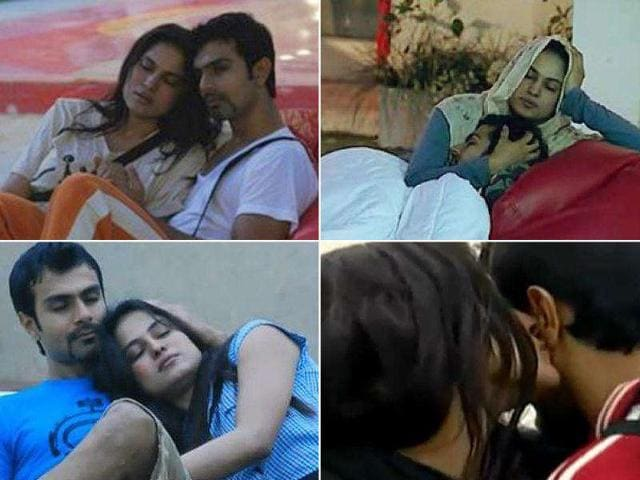 Veena Malik made waves for getting intimate with Ashmit Patel in Bigg Boss 4.
