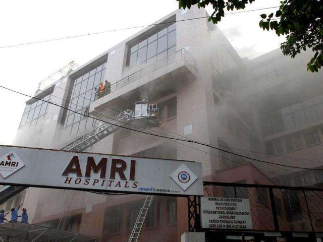 AMRI hospital,Dhakuria,West Bengal Health Department