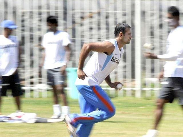 Irfan-Pathan-bowls-during-a-training-session-ahead-of-the-final-One-Day-International-ODI-match-between-India-and-West-Indies-at-The-MA-Chidambaram-Stadium-in-Chennai-AFP-Photo-Dibyangshu-Sarkar