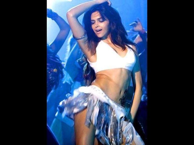 Deepika-Padukone-s-Dum-Maaro-Dum-hogged-newsprint-for-more-than-one-reasons-Be-it-Deepika-s-hot-outfit-or-the-controversial-lyrics-the-song-overshadowed-the-film-and-its-lead-star-Abhishek-Bachchan