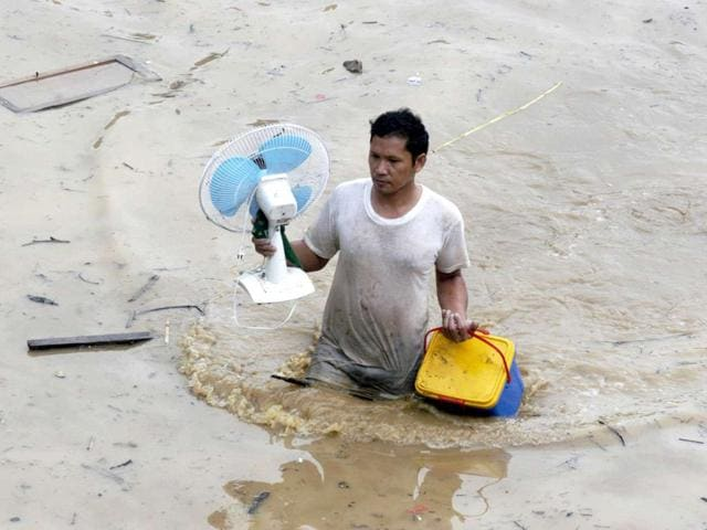 farmers,stranded,yamuna
