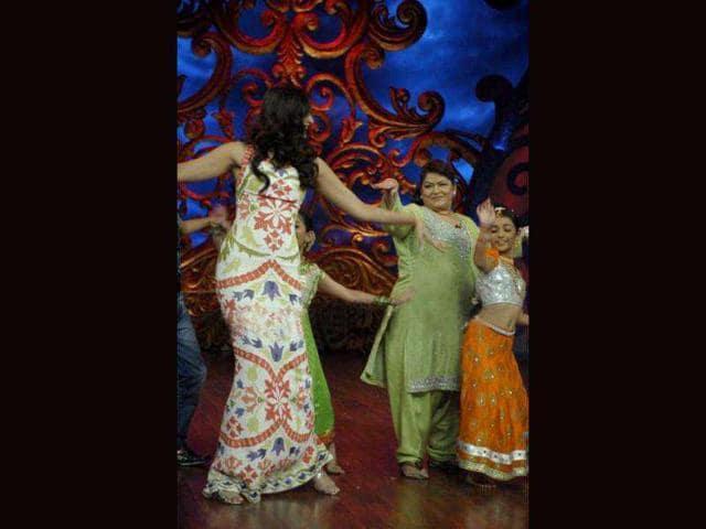 Saroj Khan,Helen,Madhuri Dixit