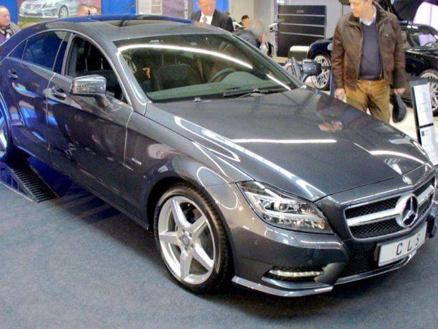 A class higher,Mercedes-Benz CLS350,tech