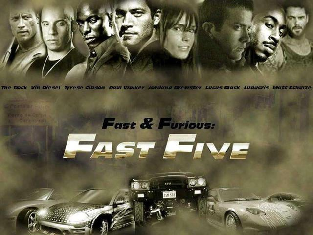 Fast and the Furious,Vin Diesel,Fast Five
