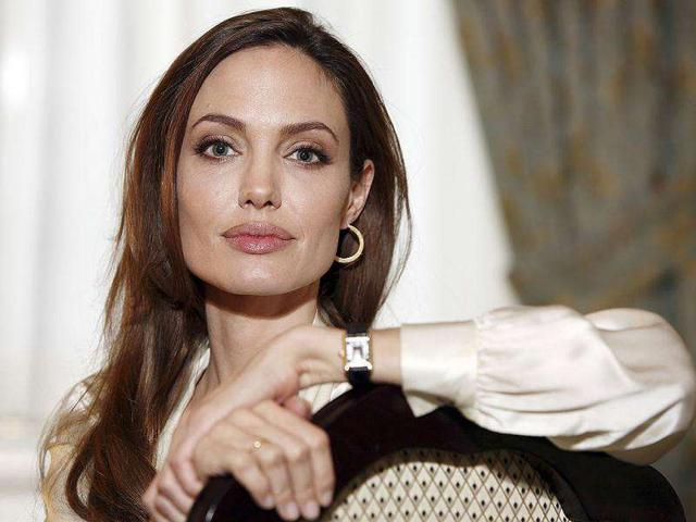 Angelina Jolie,Hollywood mega-star,lucky