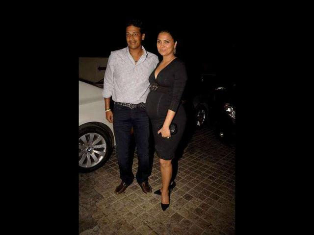 Bollywood-actor-Lara-Dutta-who-is-a-fitness-freak-gave-birth-to-a-baby-girl-on-January-20-this-year-and-has-named-her-Saira