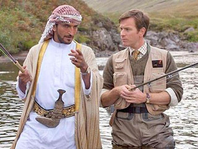 Paul Torday,Salmon Fishing in the Yemen,Ewan McGregor
