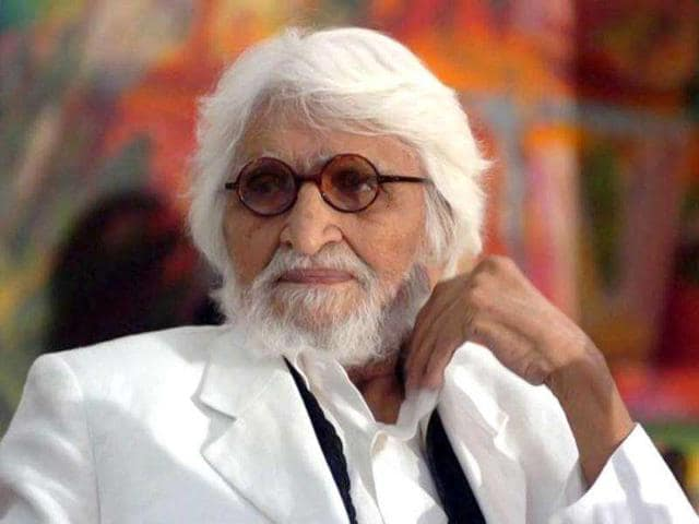 Celebrated-Indian-artists-MF-Husain-passed-away-on-June-9-2011-He-was-95