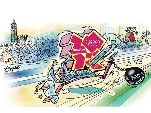 Cartoon-India-in-London-Olympics