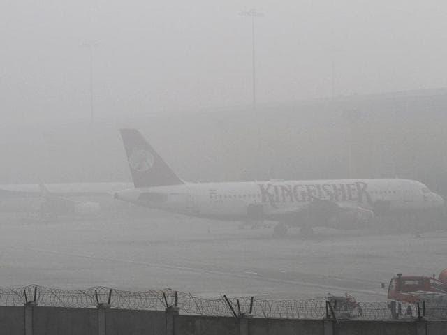 airport frenzy New Delhi
