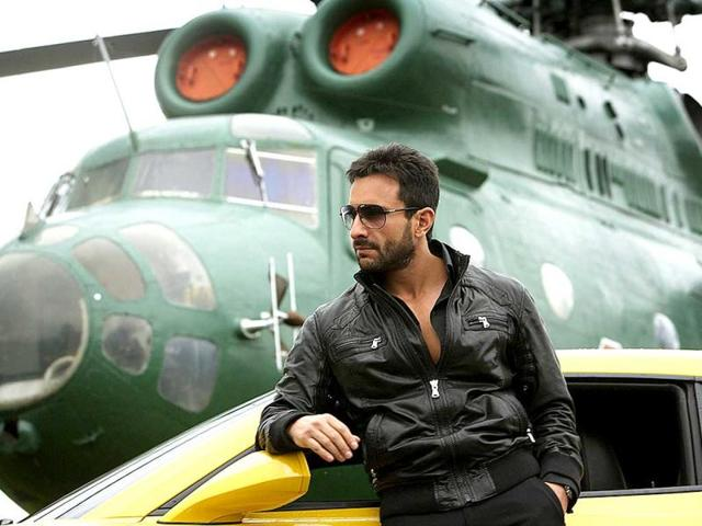 Saif Ali Khan,PlayStation3,Agent Vinod